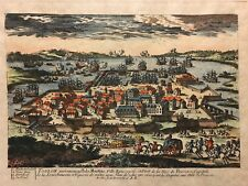 Telo Martinus Port de Toulon par Aveline 1691-1743 tirage tardif fin XVIII - XIX
