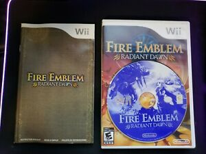 Fire Emblem Radiant Dawn (Nintendo Wii) Authentic - Complete CiB - Tested