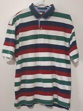 Tommy Hilfiger Lion Crest Polo Shirt men's Size Large 90s Vtg Tommy For Ur Mummy