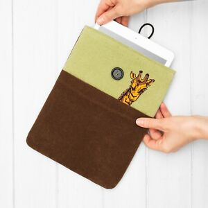 Giraffe Embroidery Design Case Cover iPad Mini Pro Air 4 10.2 10.5 11 12.9 2021