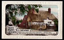 C1930s - 'Many happy returns dear Mummie' - Cottage