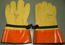 """Salisbury Lp-3S Protector Cowhide Linesmen's Gloves, Size 11, 12"""" Length - New"""