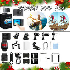 Xmas Gift AKASO V50 Pro 20MP WiFi Action Camera with EIS Touch Screen Waterproof