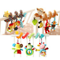 25 Styles Baby Crib Pram Hanging Spiral Musical Rattle Toy Soft Education Toy