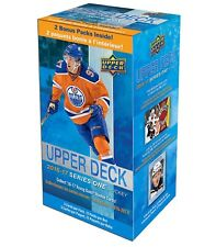 2016-17 Upper Deck Series 1 NHL hockey cards Blaster Box
