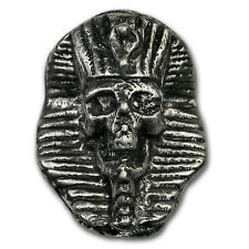 2 oz Silver - Mk Barz & Bullion (Limited Edition, Pharaoh Skull) - SKU#153563