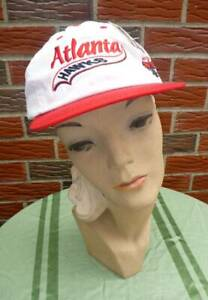 Vintage 1990s Atlanta Hawks Hat #1 Adjustable Unisex New w/Official NBA Tag