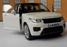 PERSONALISED PLATES RANGE ROVER SPORT Toy Car MODEL boy dad VALENTINE gift NEW