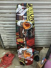 hyperlite wakeboard W/ Bindings Boots & New 75 Ft Tow Rope