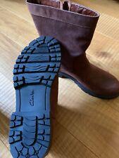 Clarks Stiefel Gr. 39 / EU 6 Braun