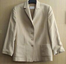 Schicker BASLER Blazer Jacke Jacket Gr 42 beige REINE SCHURWOLLE!! - NEUWERTIG!
