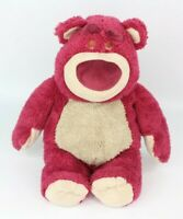 DISNEYLAND PARIS TOY STORY LOTSO BEAR SOFT TOY PLUSH STRAWBERRY SCENTED 15''