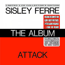 "SISLEY FERRE THE ALBUM NEW DOUBLE CD+16 Page Booklet&11Bonus tracks/""SUMMERSALE"""