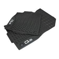 Original Audi Q5 FY Gummi Fußmatten vorn Gummimatten Allwettermatten schwarz OEM