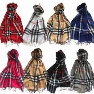 Tartan Check Plaid Pashmina Scarf Women Ladies Scottish hijab Stole