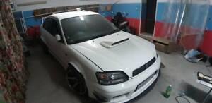 Subaru Legacy BE-BH Charge Speed