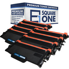 eSquareOne Toner Cartridge Replacement for Brother TN850 TN820 (Black, 8-Pack)