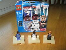 LEGO Sports 3560 NBA RAY ALLEN (BUCKS) TIM DUNCAN (SPURS) PAU GASOL (GRIZZLIES)