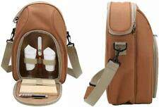 Wine Cooler Tote Bag Insulated Picnic Bag Wine Glasses Cheese Board Knife