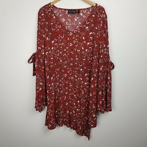 The Fifth Label Dress Size S Long Sleeve Floral Print
