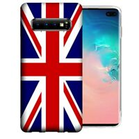 For Samsung Galaxy S10e England British Flag Design Gel Phone Case Cover