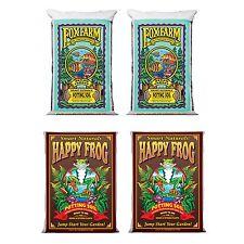 FoxFarm Ocean Forest Organic Soil Mix (2) + Happy Frog Organic Pot Soil Mix (2)