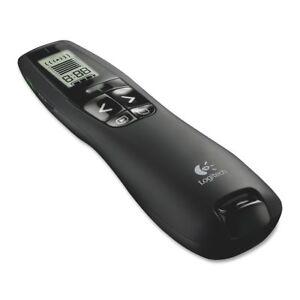 Logitech R800 Professional Presenter Pointer for Business Wireless green laser