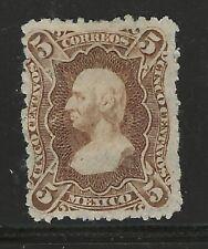 MEXICO Classics...#106e...Mint HH, HR w FAULTS...1874...SCV $37.50
