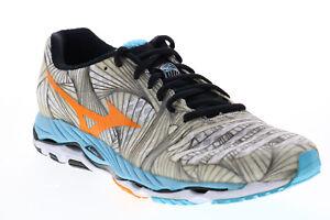 Mizuno Wave Paradox J1GD144056 Womens Grey Mesh Lace Up Athletic Running Shoes