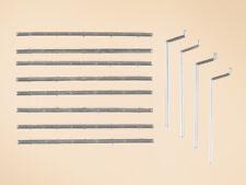 Auhagen kit 48643 NEW HO DRAIN PIPES & GUTTERS