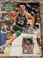 Boston Celtics Larry Bird '91 Beckett Magazine. Nice!