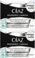 Olay (Olaz) Regenerist Luminous Skin Tone Perfecting Cream (2 x 50ml)