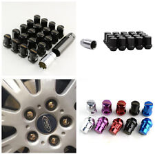 Durable M12 X1.5 Racing Car Modified Black Wheel Screws Anti-theft Nuts Screw