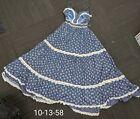 Vintage Gunne Sax Style Prarie Cottagecore Lace Dress