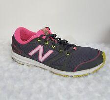 New Balance 577 Women Susan Komen Size 9.5 Gray/Pink w/Yellow Sole  WX577PB