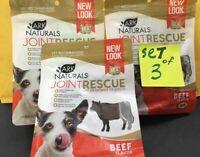 Ark Naturals Joint Rescue Beef Jerky Dog Treats, (set3x9-oz)
