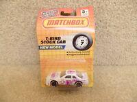 1990 Matchbox NASCAR 1:64 Scale Diecast Maui Graphics Thunderbird Stock Car #17