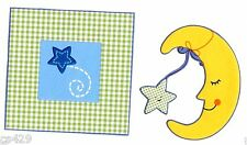 "3"" Lambs & ivy kidsline goodnight moon & star  prepasted wall border cut out"