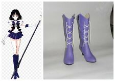 Sailormoon Sailor Moon Saturn Cosplay Costume Boots Boot Shoes Shoe