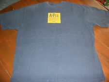 Abercrombie & Fitch Mens XL Navy/Yellow Shirt  NEW NO TAGS