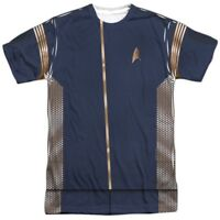 Authentic Star Trek Discovery Uniform Costume Outfit Allover FRONT T-shirt top