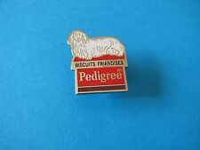 Pedigree PAL Biscuits Pet Food Pin badge. Good Condition.