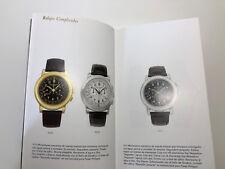 PATEK PHILIPPE Catálogo - Relojes Coleccion 2001 - Spanish - Calatrava Nautilus