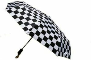 Vans Off The Wall Black/White Checkerboard Umbrella
