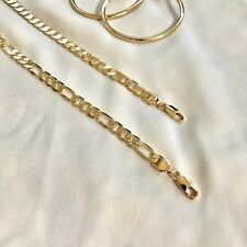 14k Gold Filled Ankle Bracelet   Chunky Anklet   Tobillera Oro Laminado