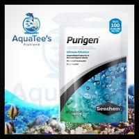 Seachem Purigen 100ml Pre-Bagged Filter Pouch Fish Tank Filter Media Sump Bag