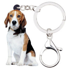 Beagle Keychain Silhouette
