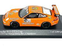 1:43 scale Minichamps Porsche 911 GT3 Race Car - T Papadopoulos Sebring 2007 Car