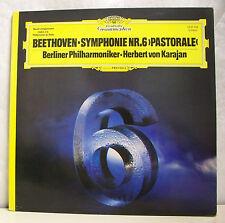 """33T BEETHOVEN KARAJAN Disque LP 12"""" SYMPHONIE N°6 PASTORALE -DEUTSCHE GRAMMOPHON"""