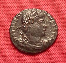 Ancient Roman Bronze AE3 Coin, Valentinianus, Rare Portrait!